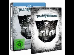 Transformers-1---3-(Steelbook-Media-Markt-Exklusiv-mit-Lenticular)-Action-Blu-ray