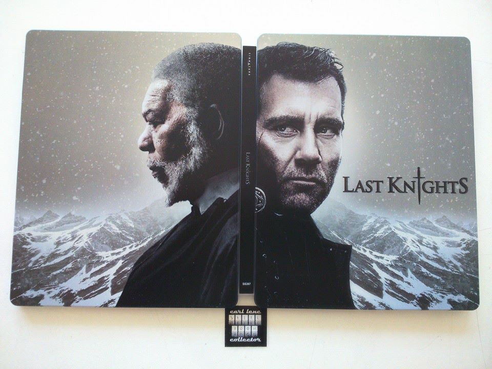 Last Knights steelbook uk 1