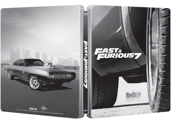 fast and furious 7 visuel complet un 2 me steelbook fr steelbookpro l 39 actualit mondiale. Black Bedroom Furniture Sets. Home Design Ideas