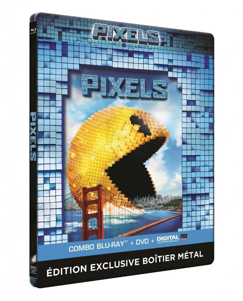 Pixels steelbook fr