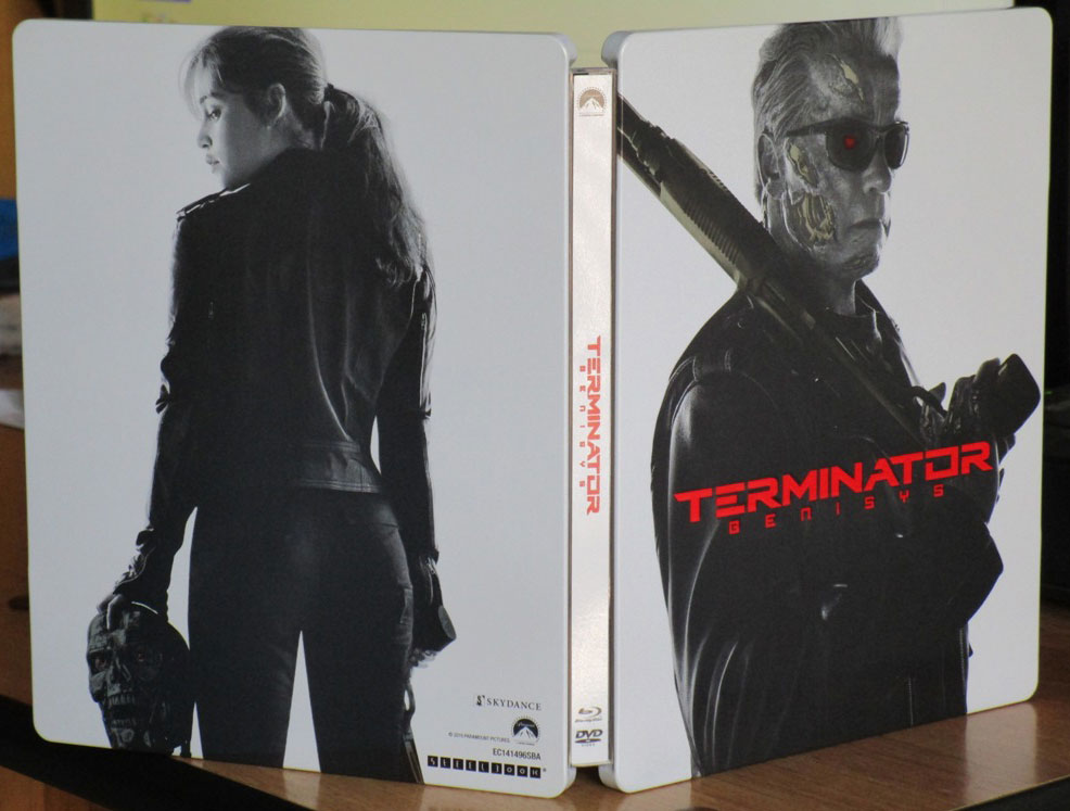 Terminator Genisys steelbook 1