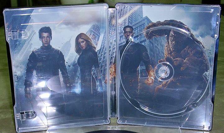 Fantastic 4 steelbook 2