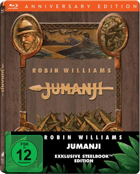 Jumanji steelbook DE