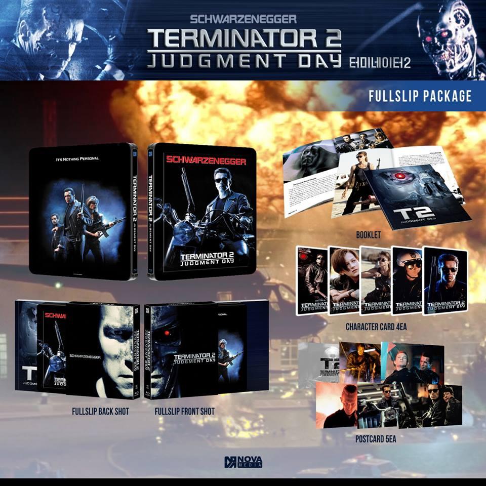 Terminator 2 novamedia steelbook fullslip