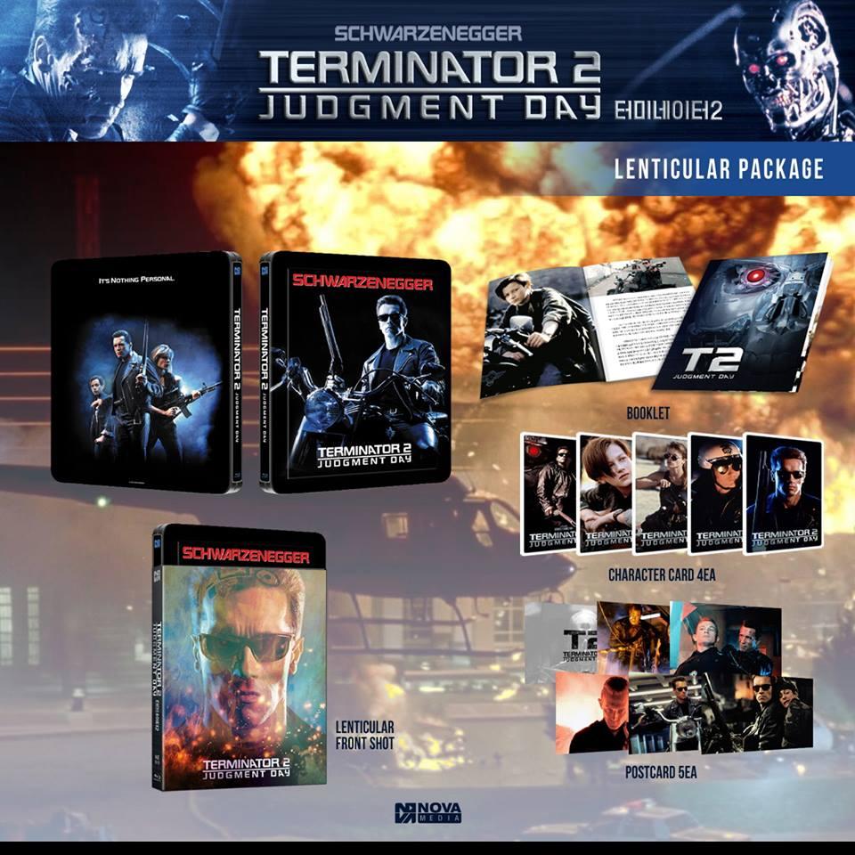 Terminator 2 novamedia steelbook lenti