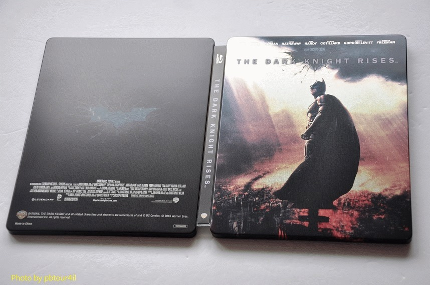 The Dark Knight Rises steelbook jp