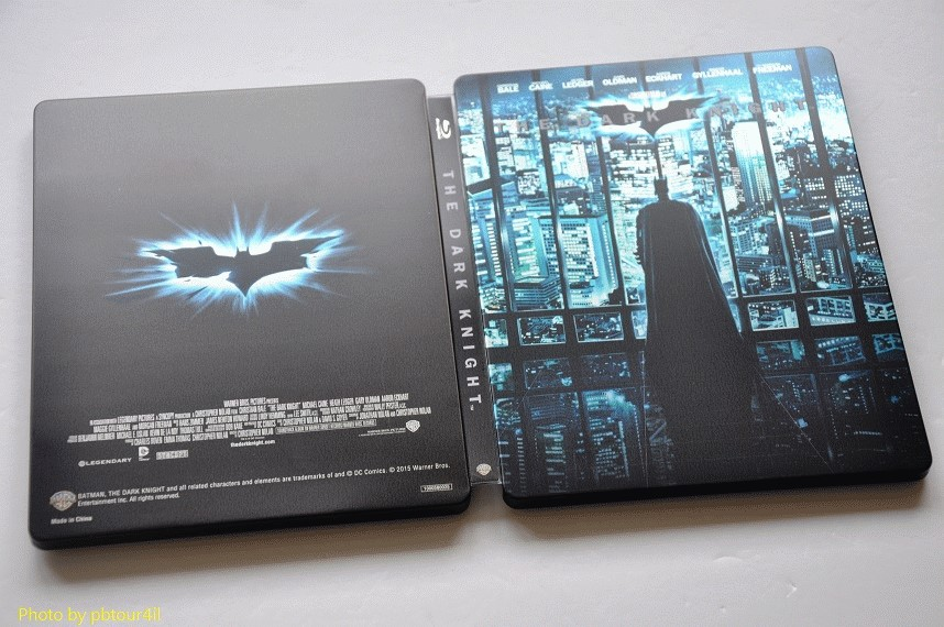 The Dark Knight steelbook jp