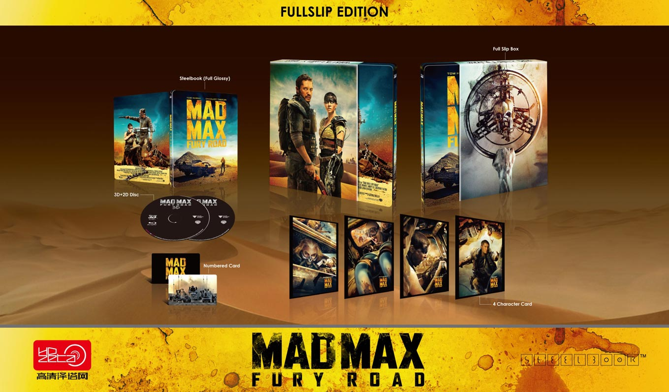 Mad Max Fury Road steelbook hdzeta fullslip (2)