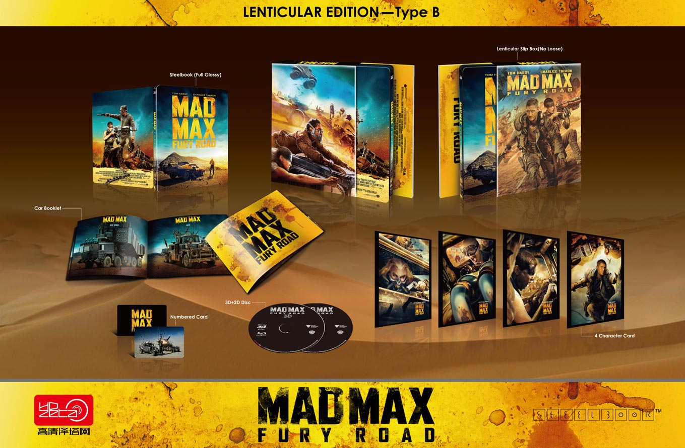 Mad Max Fury Road steelbook hdzeta lentiB