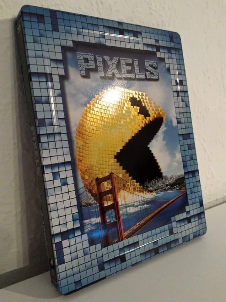 Pixels steelbook mediamarkt 4
