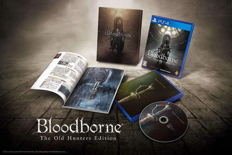 Bloodborne the old hunter steelbook