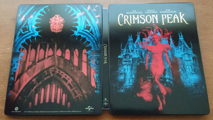 crimson peak steelbook