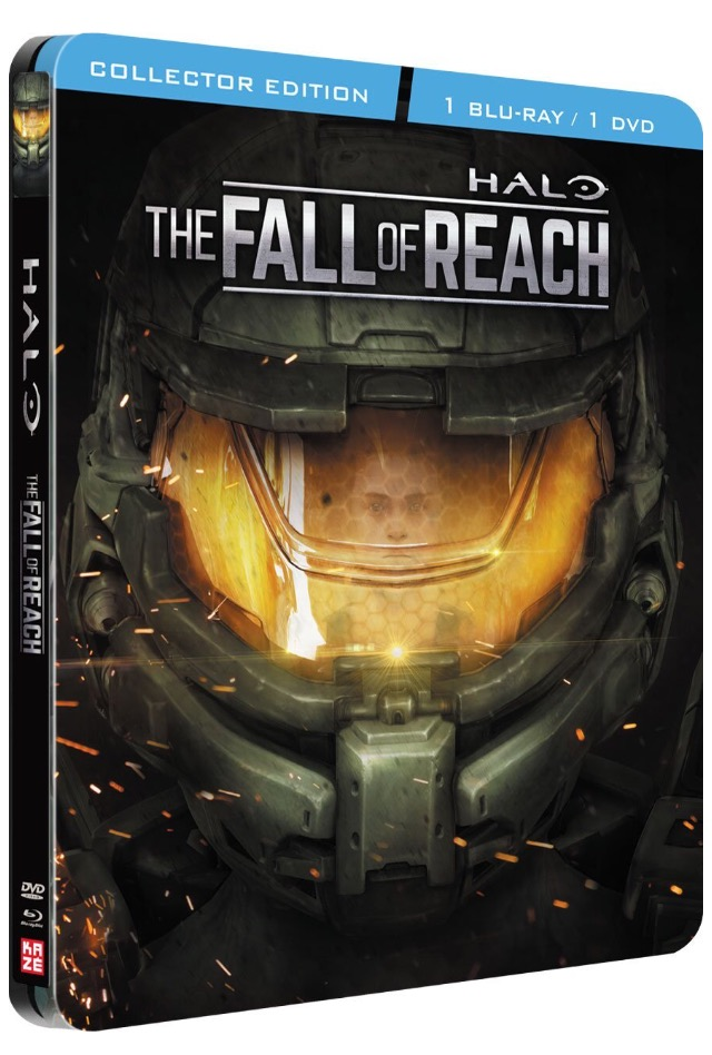 Halo Fall of Reach steelbook fr