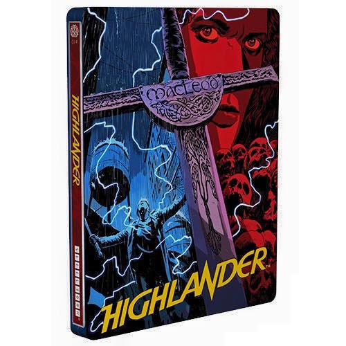Highlander steelbook mondo