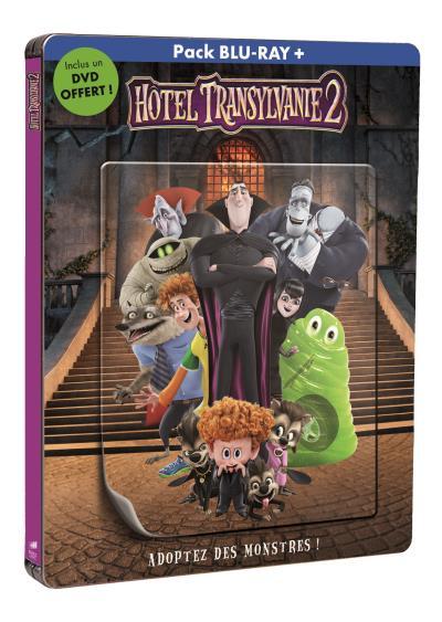 Hotel Transylvania 2 steelbook fr 2