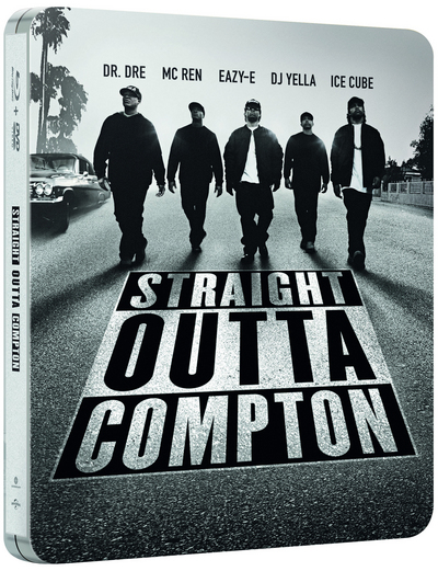N.W.A Straight Outta Compton steelbook
