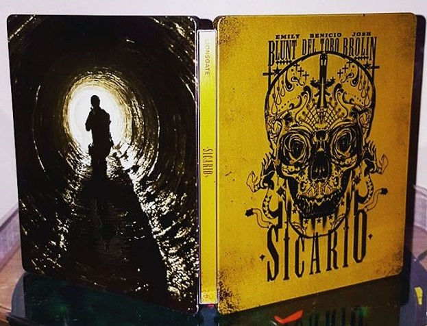 Sicario steelbook uk 1