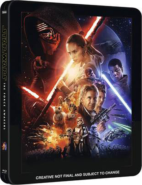 Star Wars The Force Awakens steelbook