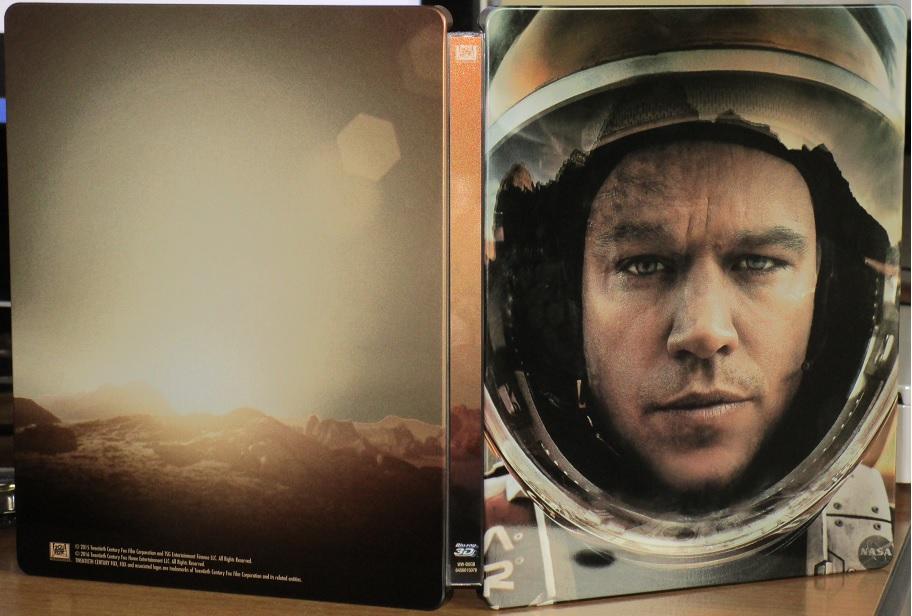 The Martian Steelbook
