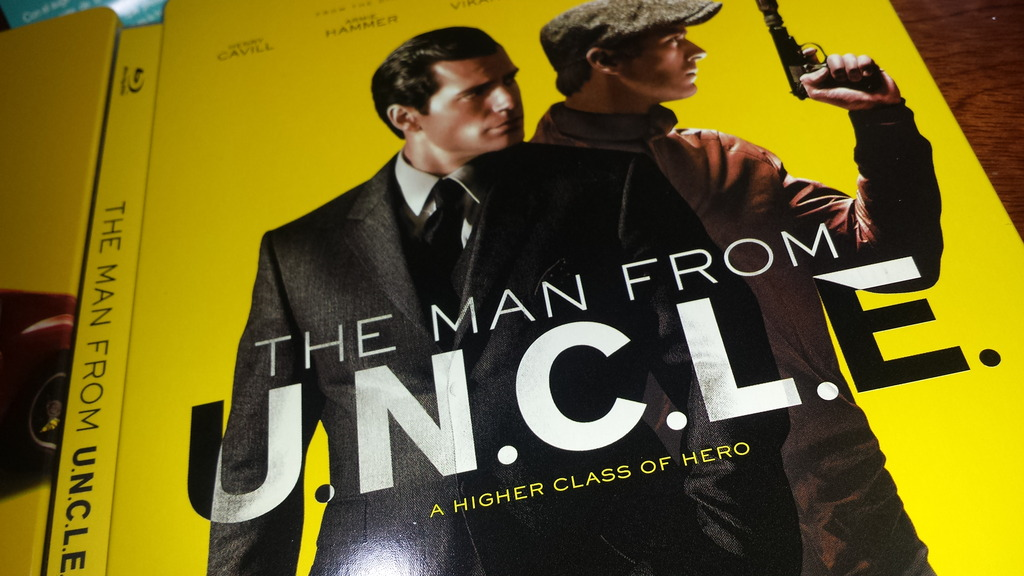 The man from uncle steelbook ES3