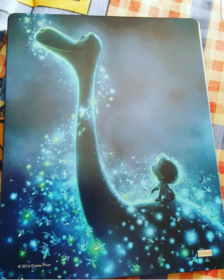 The Good Dinosaur steelbook zavvi