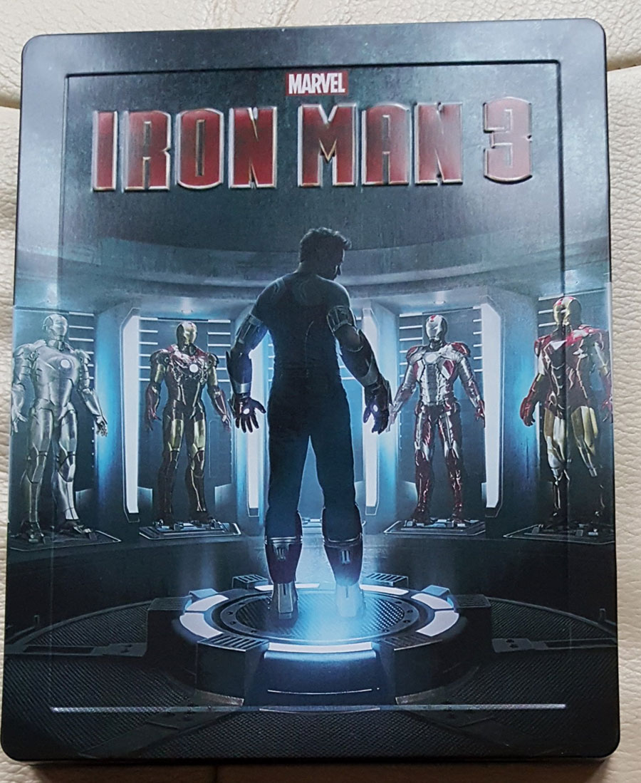 iron man 3 un steelbook lenticulaire zavvi maj aper231u