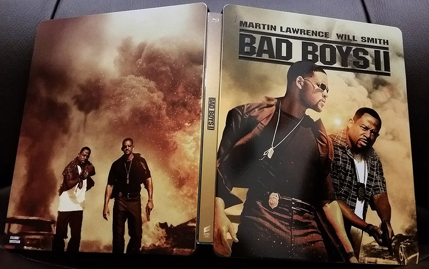 Bad Boy II steelbook zavvi 1