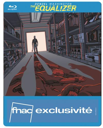 Equalizer steelbook pop art