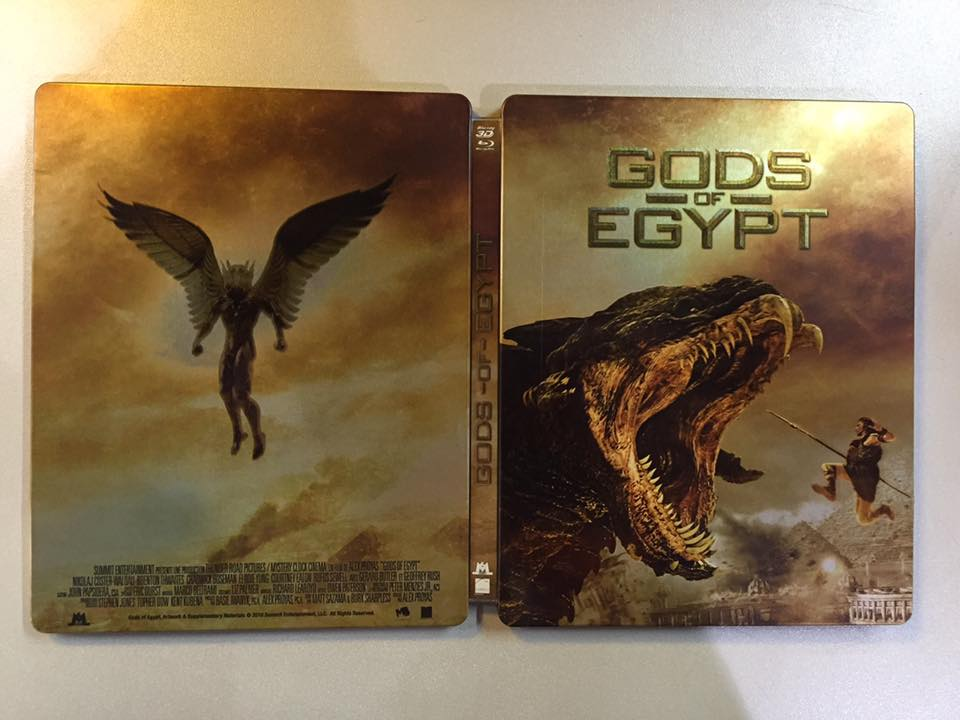 Gods of Egypt steelbook fr 1