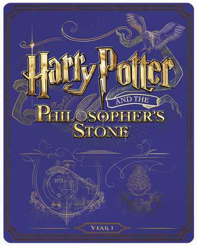 Harry Potter 1 steelbook UK
