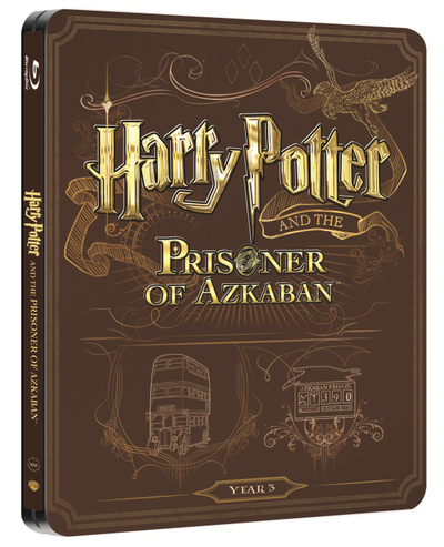 Harry Potter 3 steelbook UK