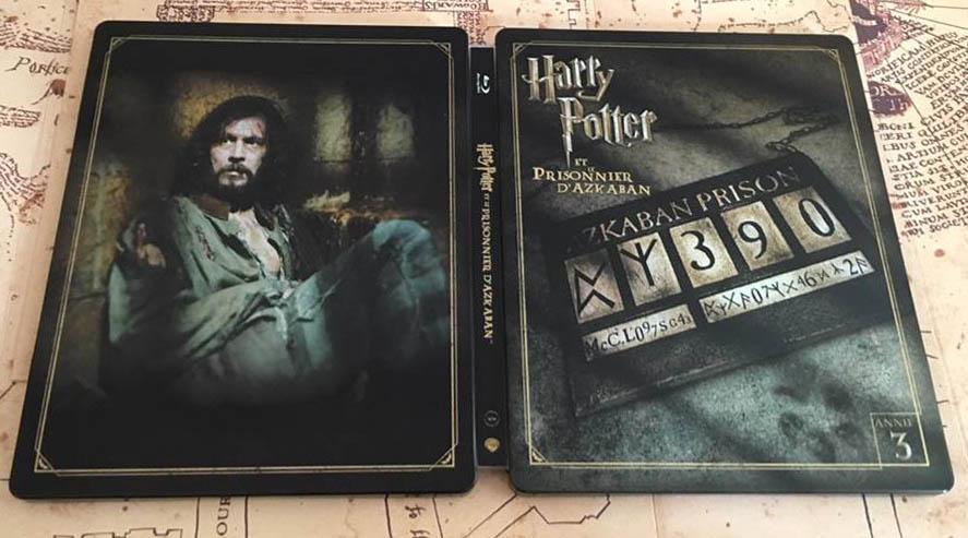Harry Potter 3 steelbook fr 2