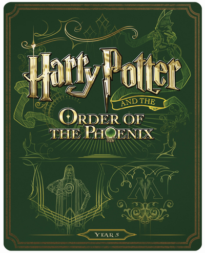 Harry Potter 5 steelbook UK
