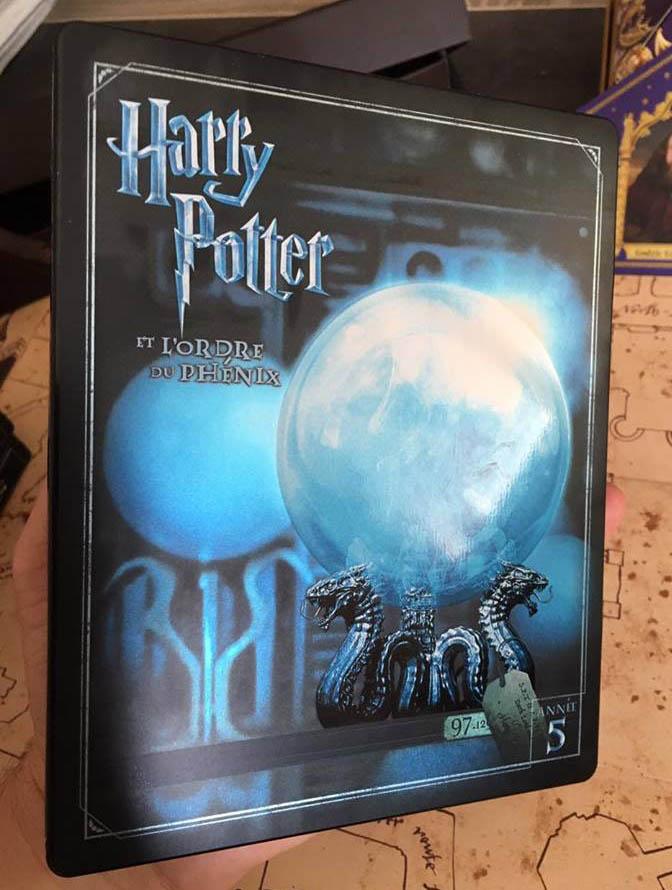 Harry Potter 5 steelbook fr 1