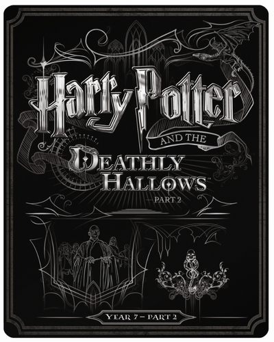 Harry Potter 8 steelbook UK
