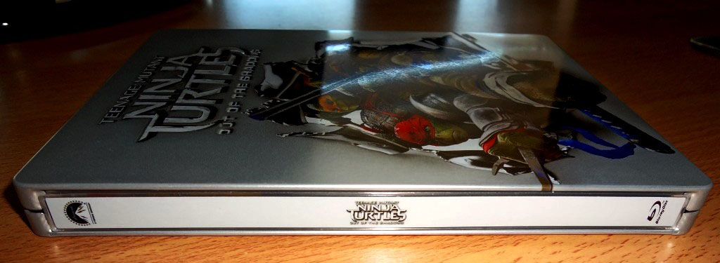Ninja Turtles 2 steelbook 1