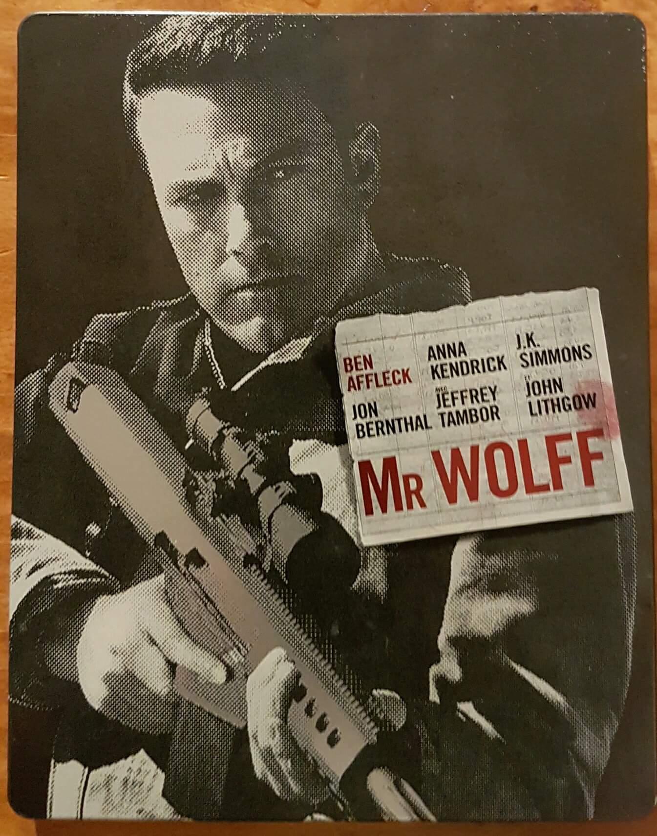 Mr Wolf steelbook fr 1