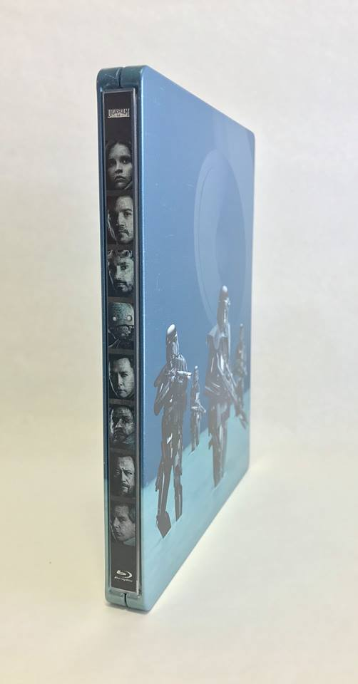 Star Wars Rogue one steelbook zavvi