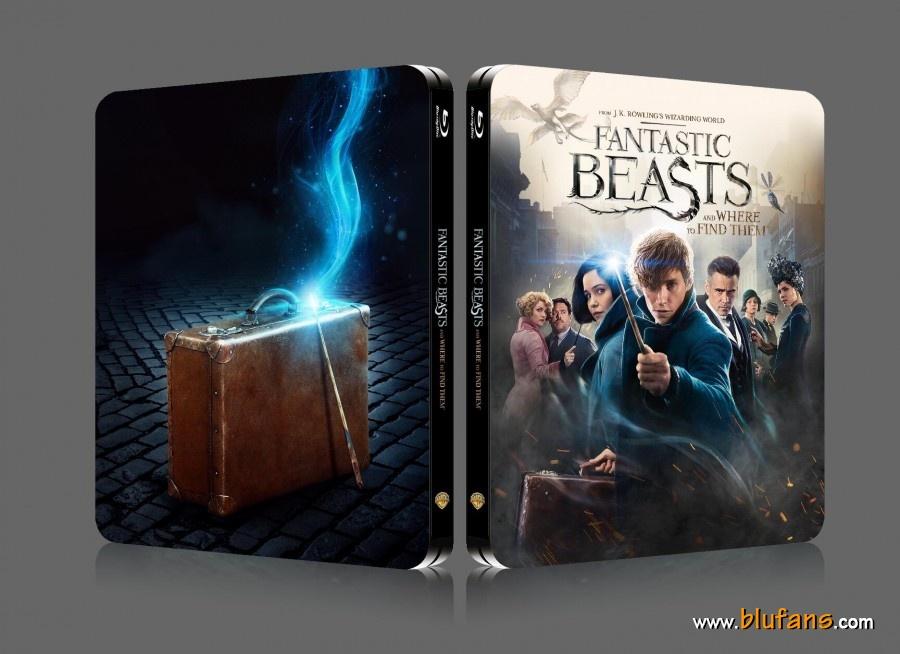 Fantastic Beast steelbook blufans 1