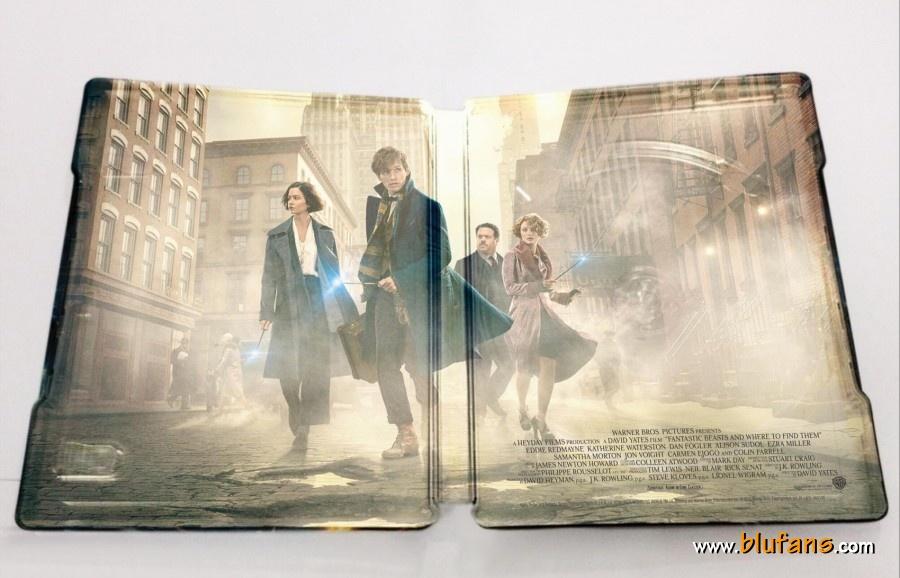 Fantastic Beast steelbook blufans 2