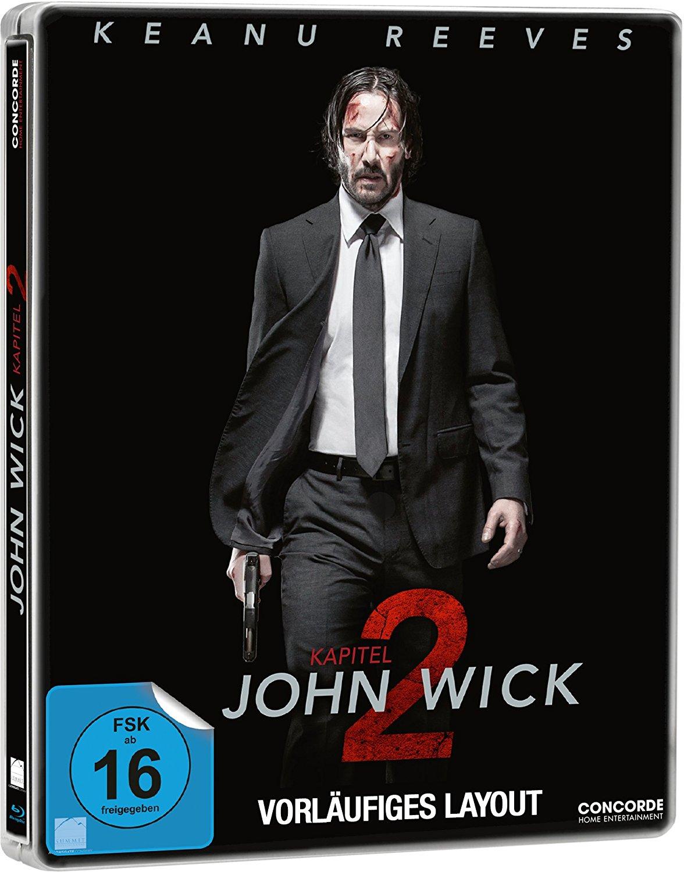 John Wick 2 steelbook DE