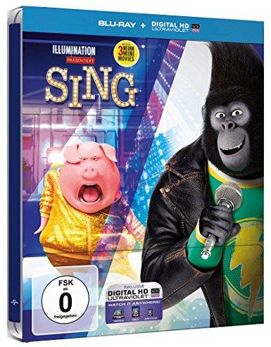 Sing steelbook DE