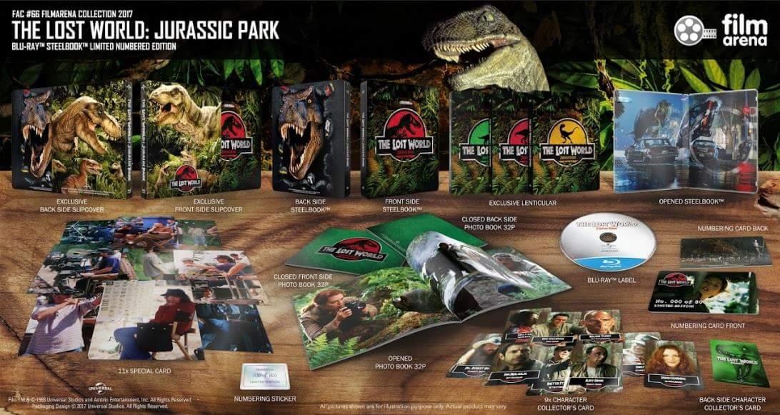 Jurassic park trois ditions steelbook filmarena - Jeux de jurassic park 3 ...