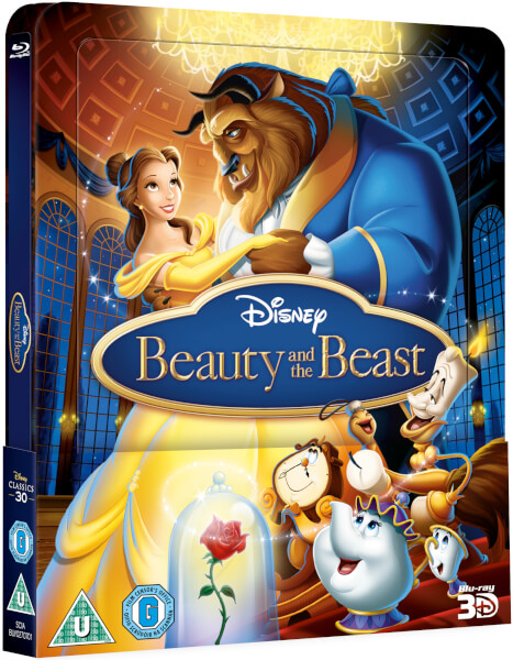Beaty and the Beast steelbook zavvi 1