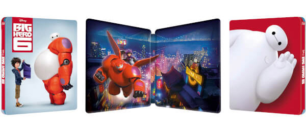 Big Hero 6 steelbook zavvi 2