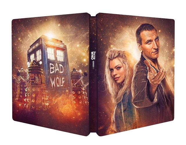 Doctor Who serie 1 steelbook