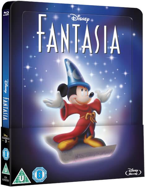 Fantasia steelbook zavvi 1