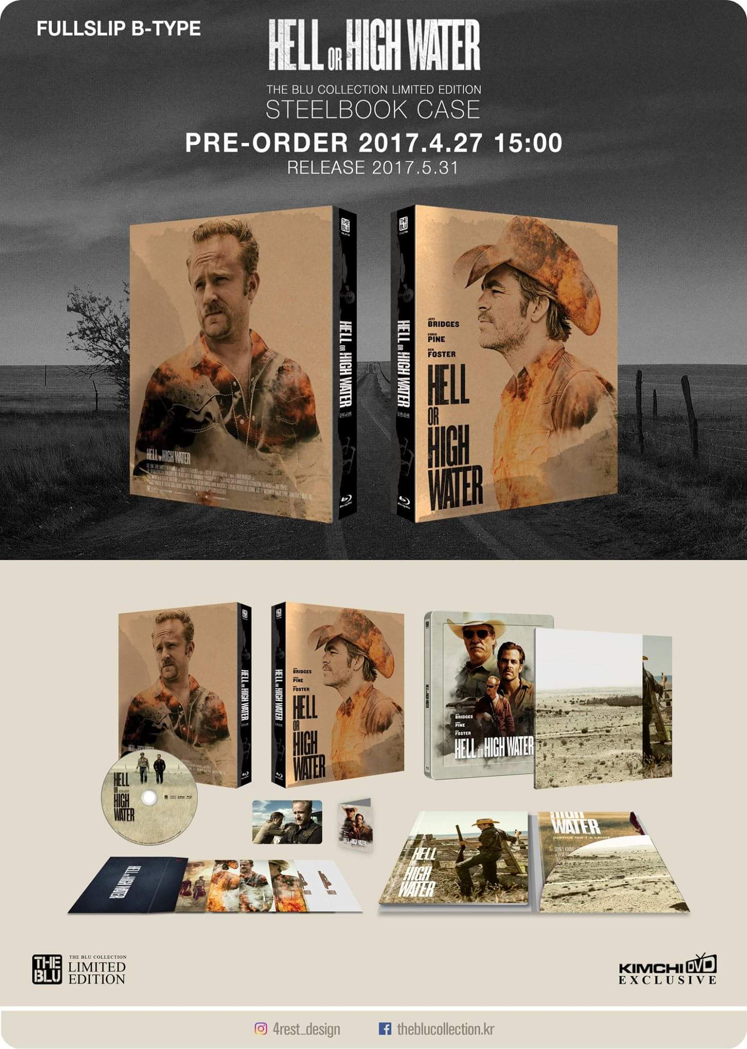 Hell or High Water steelbook 2