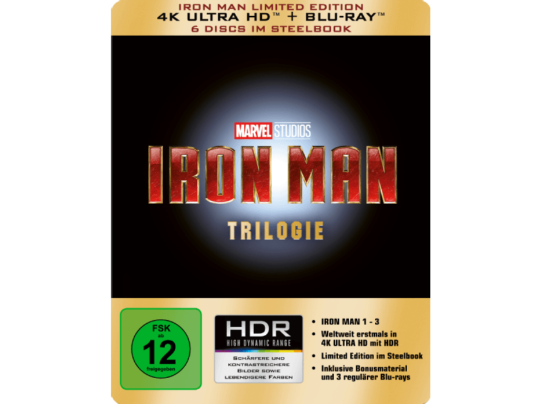 Iron-Man-Trilogie---Limited-4K-Ultra-HD-Edition-im-Steelbook---(4K-Ultra-HD-Blu-ray)