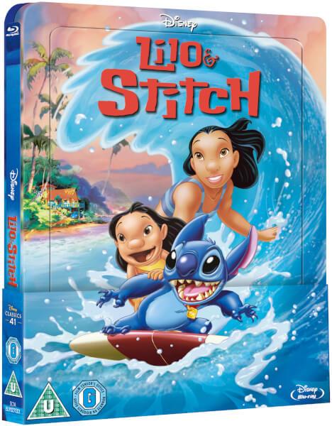 Lilo Stitch steelbook zavvi 1